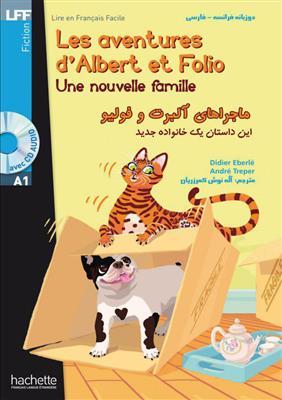 خرید کتاب فرانسه ماجراهای آلبرت و فولیو: یک خانواده جدید