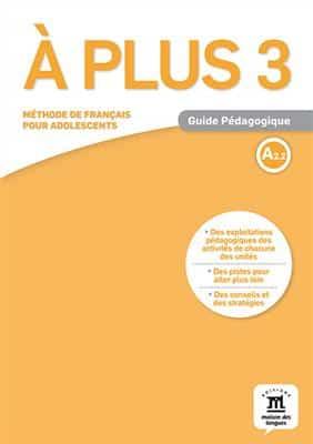 خرید کتاب فرانسه A plus 3 - Guide Pedagogique