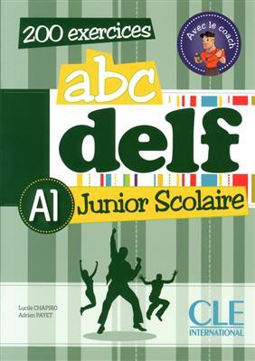 خرید کتاب فرانسه ABC DELF Junior scolaire - Niveau A1+ DVD
