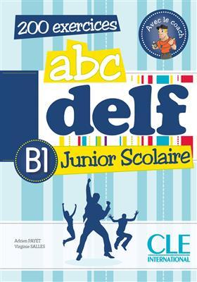 خرید کتاب فرانسه ABC DELF Junior scolaire - Niveua B1 + DVD
