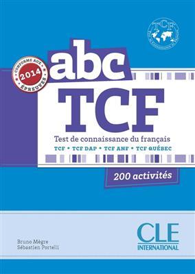 خرید کتاب فرانسه ABC TCF - Conforme epreuve 2014 - Livre + CD
