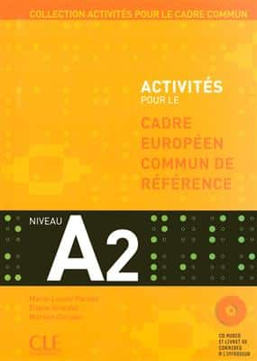 خرید کتاب فرانسه Activites Pour Le Cecr - A2 Textbook + Key + CD