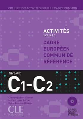 خرید کتاب فرانسه Activites Pour Le Cecr - C1-C2 Textbook + Key + CD