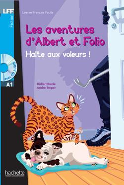 خرید کتاب فرانسه Albert et Folio : Halte aux voleurs ! + CD Audio MP3