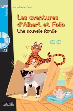 خرید کتاب فرانسه Albert et Folio : Une nouvelle famille + CD Audio MP3
