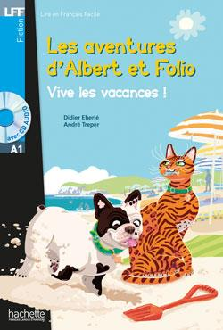 خرید کتاب فرانسه Albert et Folio - Vive les vacances ! + CD Audio MP3