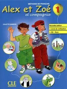 خرید کتاب فرانسه Alex et Zoe 1 - Livre + CD Rom