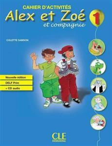 خرید کتاب فرانسه Alex et Zoe - Niveau 1 - Cahier d'activite + CD