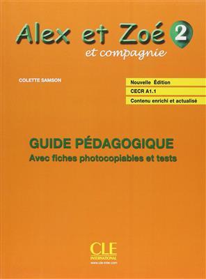 خرید کتاب فرانسه Alex et Zoe - Niveau 2 - Guide pedagogique