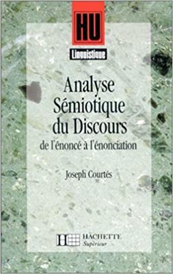 خرید کتاب فرانسه Analyse semiotique du discours