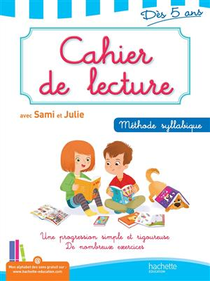خرید کتاب فرانسه Cahier de lecture Sami et Julie