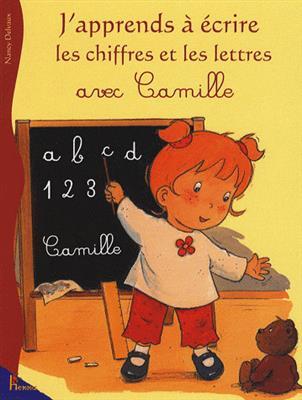 خرید کتاب فرانسه Camille - : J'apprends a ecrire les chiffres et les lettres avec Camille