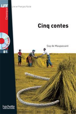 خرید کتاب فرانسه Cinq contes + CD audio MP3 (B1)