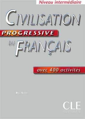 خرید کتاب فرانسه Civilisation Progressive intermediaire - edition 2004