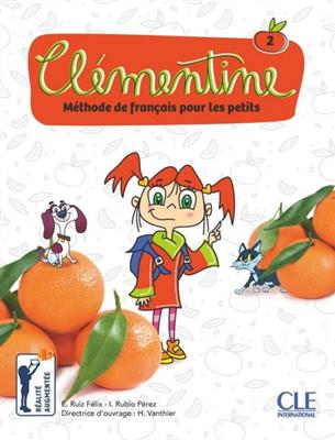 خرید کتاب فرانسه Clementine 2 - Méthode de français pour les petits - Livre + DVD