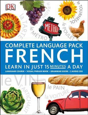 خرید کتاب فرانسه Complete Language Pack French