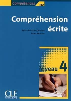 خرید کتاب فرانسه Comprehension ecrite 4 - Niveau b2