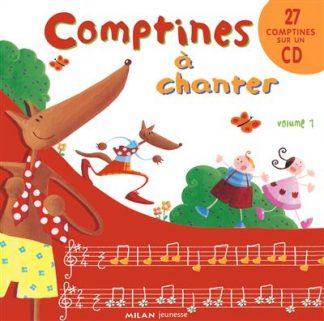 خرید کتاب فرانسه Comptines a chanter