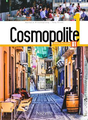 خرید کتاب فرانسه Cosmopolite 1 : Livre de l'élève + Cahier + DVD-ROM