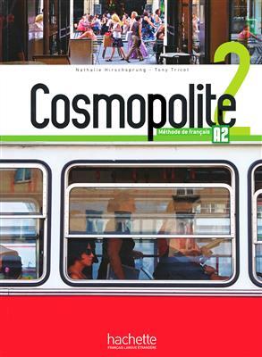 خرید کتاب فرانسه Cosmopolite 2 : Livre de l'élève + Cahier + DVD-ROM