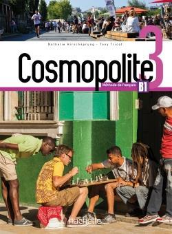 خرید کتاب فرانسه Cosmopolite 3 : Livre de l'élève + Cahier + DVD-ROM