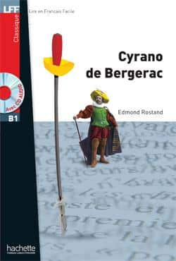 خرید کتاب فرانسه Cyrano de bergerac + CD audio MP3 (B1)