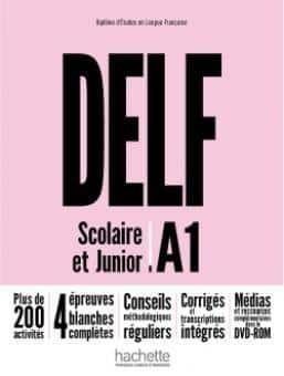 خرید کتاب فرانسه DELF A1 Scolaire et Junior + DVD-ROM Nouvelle édition