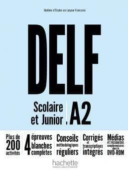 خرید کتاب فرانسه DELF A2 Scolaire et Junior + DVD-ROM Nouvelle édition
