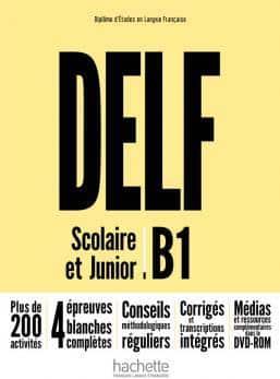 خرید کتاب فرانسه DELF B1 Scolaire et Junior + DVD-ROM Nouvelle édition