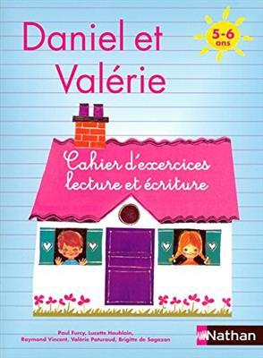 خرید کتاب فرانسه Daniel et Valerie - Cahier d'exercices Lecture ecriture 5-6 ans