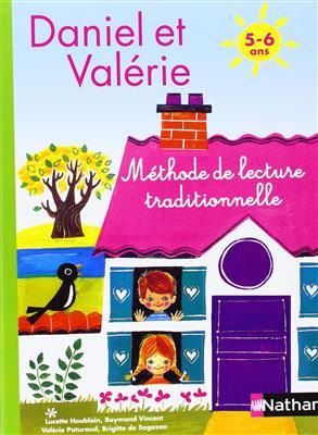 خرید کتاب فرانسه Daniel et Valerie - Methode de lecture traditionnelle 5 - 6 ans