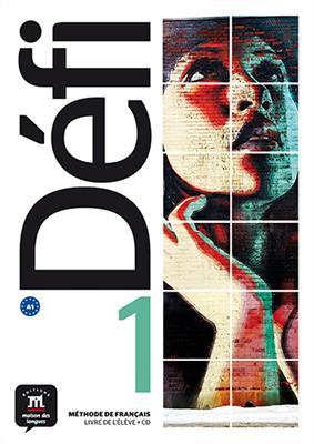 خرید کتاب فرانسه Defi 1 - A1 – Livre de l'élève + Cahier d'exercices + CD
