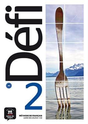 خرید کتاب فرانسه Defi 2 - A2 – Livre de l'élève + Cahier d'exercices + CD