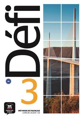 خرید کتاب فرانسه Defi 3 - B1 – Livre de l'élève + Cahier d'exercices + CD