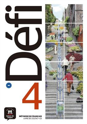 خرید کتاب فرانسه Defi 4 - B2 – Livre de l'élève + Cahier d'exercices + CD
