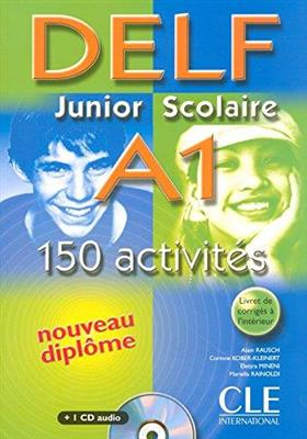خرید کتاب فرانسه Delf Junior Scolaire A1 Textbook + Key + CD