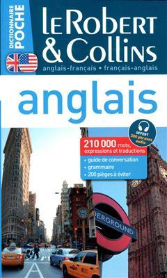 خرید کتاب فرانسه Dictionnaire Le Robert et Collins Poche Anglais