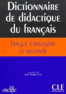 خرید کتاب فرانسه Dictionnaire de didactique du français