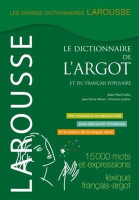 خرید کتاب فرانسه Dictionnaire de l'argot et du français populaire