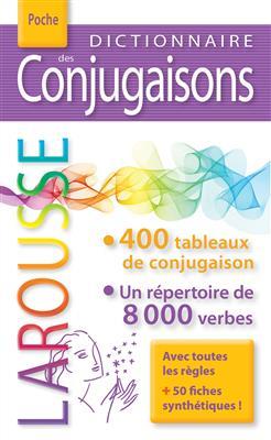خرید کتاب فرانسه Dictionnaire des conjugaisons Larousse poche