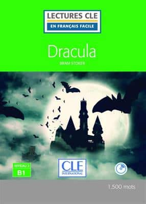 خرید کتاب فرانسه Dracula - Niveau 3/B1 + CD - Nouveaute