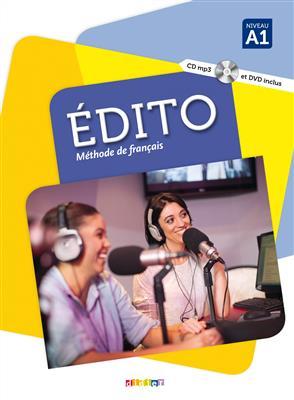 خرید کتاب فرانسه Edito 1 niv.A1