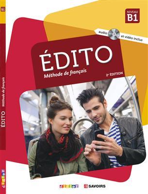 خرید کتاب فرانسه Edito niv.B1 (éd. 2018) - Livre + Cahier + DVD