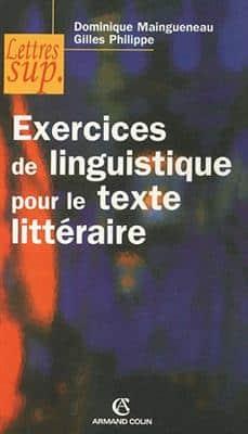 خرید کتاب فرانسه Exercices de linguistique pour le texte litteraire