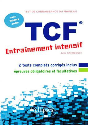 خرید کتاب فرانسه FLE • TCF • Entrainement intensif • avec fichiers audio