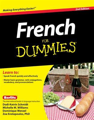 خرید کتاب فرانسه French For Dummies - 2nd Edition