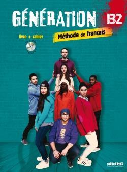 خرید کتاب فرانسه Generation 4 niv. B2 - Livre + Cahier + CD mp3 + DVD