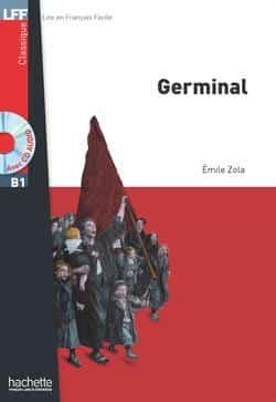 خرید کتاب فرانسه Germinal + CD audio MP3 (B1)