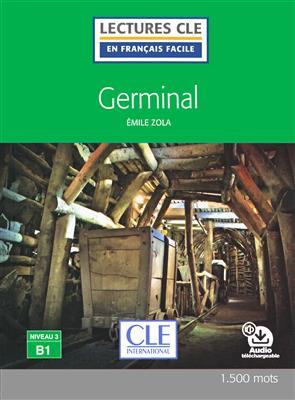 خرید کتاب فرانسه Germinal - Niveau 3/B1 - Lecture CLE en Français facile