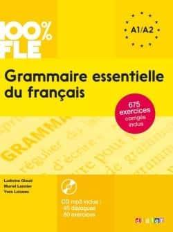 خرید کتاب فرانسه Grammaire essentielle du français niv. A1-A2 + CD 100% FLE